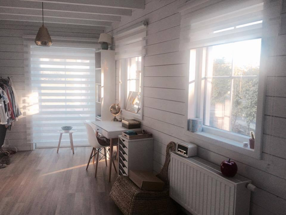 Passieve houtbouw interieur